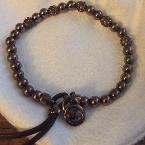 Micheal Kors Chocolate Swarovski Crystal bracelet